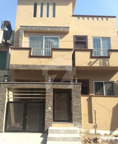 5 Marla Triple Storey Brand New House For Sale