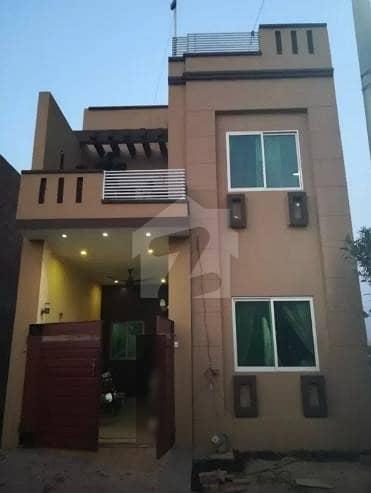 اسماعیل گرین ویلی فیصل آباد میں 3 کمروں کا 4 مرلہ مکان 60 لاکھ میں برائے فروخت۔