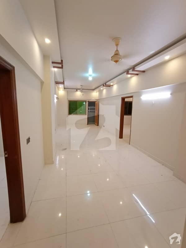 Brand New 3 Bedroom Apartment Is Available For Rent In Clifton Block 8 Karachi