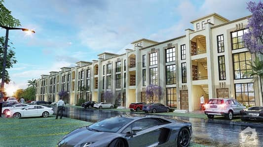 Flat Is Available For Sale On 4 Years Installment Plan