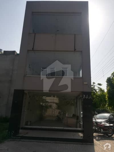 ڈی ایچ اے فیز 4 - بلاک ڈبل اے فیز 4 ڈیفنس (ڈی ایچ اے) لاہور میں 2 مرلہ کمرشل پلاٹ 2.2 کروڑ میں برائے فروخت۔