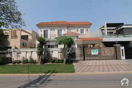 Main Road Lavish Design Spanish 1 Kanal Bungalow For Sale In Low Price