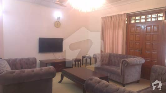 Beautiful 3 Bedroom Fully Furnished  Ground Portion Available For Rent