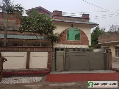 1 Kanal 2 Marla Big Corner House Main Road Muradabad Colony University  Road Sargodja