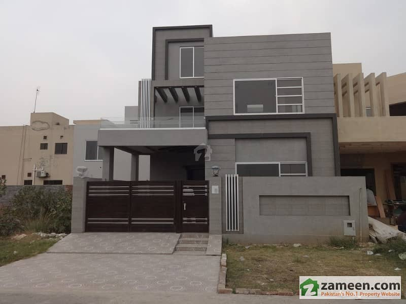 7 Marla 4 Bad Luxury Brand New Designer House For Sale In