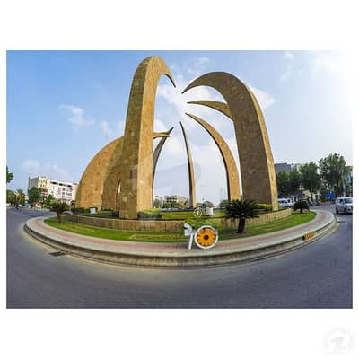 Fully Developed 10 Marla Plot For Sale In Golf View Residencia Bahria Town Lahore