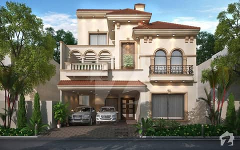 House For Sale At Super Hot Location Excellent Construction