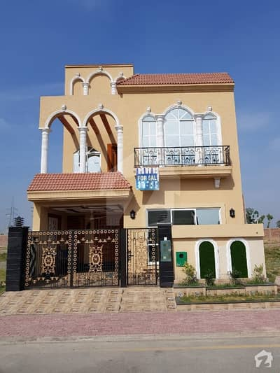 5 Marla House For Sale In Jinnah Block Sector E Bahria Town Lahore