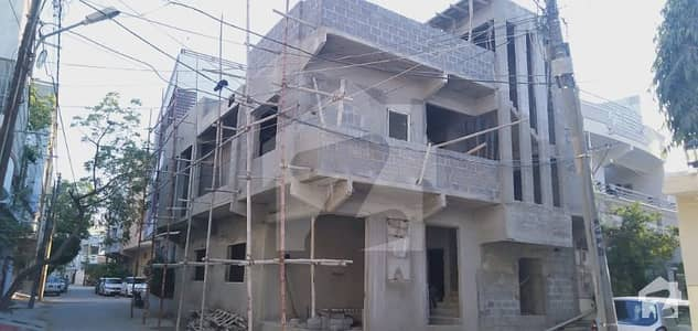 150 Yard Corner House on Finishing in Central Government Society Block 10 GulshaneIqbal