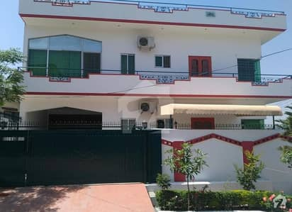 Soan  Garden 125 Marla Triple Storey House With 8 AC 5  Geyser Installed Open Basement  Separate Entrance Parking Space Spacious Mumty Servant Quarter With Gas Nd Instant Geyser Installed With Attached Proper Bedroom  Very Close To Express High Way Hospit