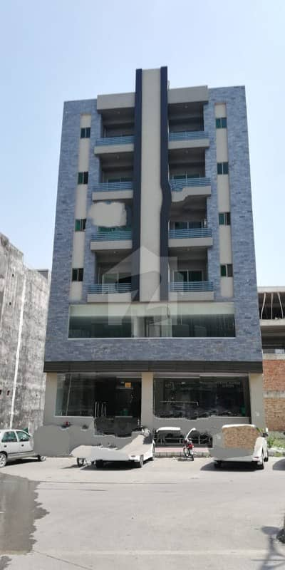 Plaza Basement Plus 8 Storey Building Outstanding Location With Quality Construction