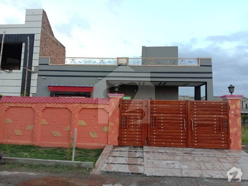 Brand New Facing Park House for Sale In Lahore Motorway City