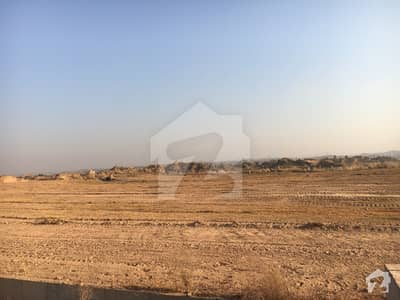 5 Marla All Dues Paid Corner Boulevard With Extra Land Plot For Sale In  St#33 F Bahria Town Phase 8 Extension