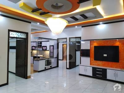 Amazing Out Standing Heart Of Locality Brand Newly 240 Square Yard Double Storey House For Sale