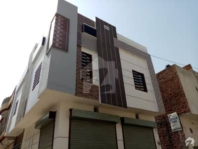 Double Storey Beautiful Corner Commercial Building For Sale At Ayub Park Okara