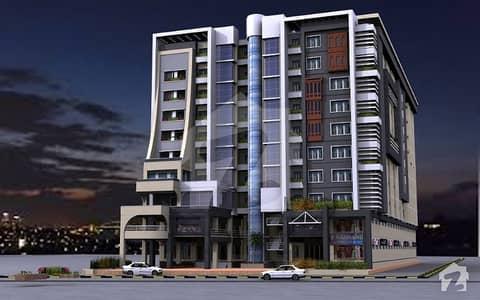 یونیورسٹی ٹاور ناصر باغ روڈ پشاور میں 2 مرلہ دفتر 51.74 لاکھ میں برائے فروخت۔