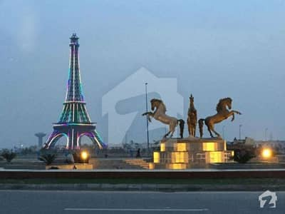 Beautiful 10 Marla Plot With Excellent Location For Sale In Bahria Town