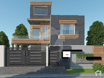 10 Marla 3 Floors House Gray Structure For Sale