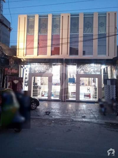 5 Marla Main Building 3 Floors Ideal Location For Bank Multinationals