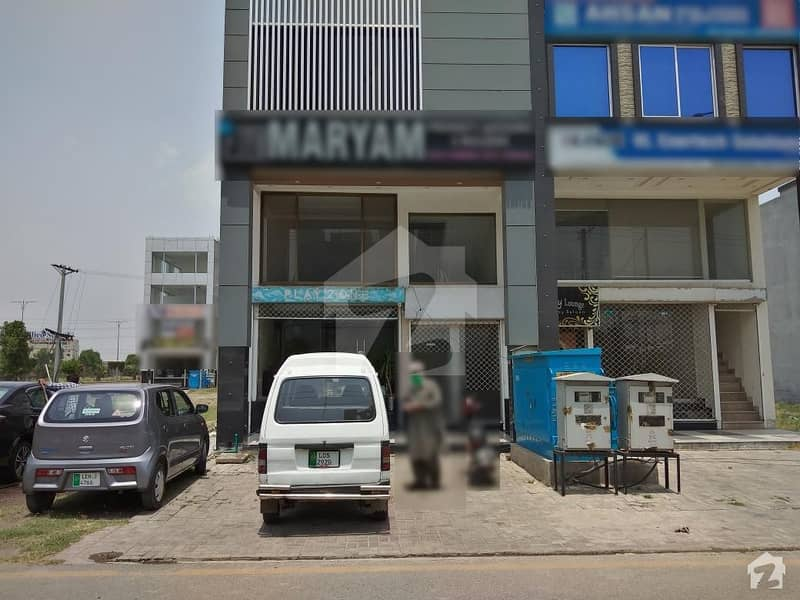 4 Marla 1st Floor Commercial Flat Available For Rent