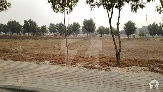 Prime Location 10 Marla Possession Plot For Sale In Johar Block Bahria Town Lahore