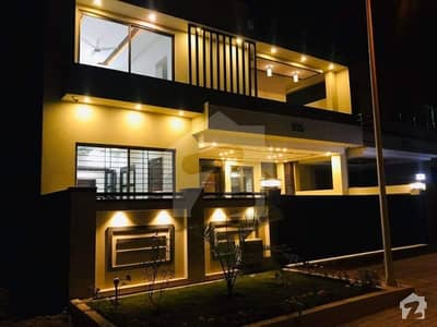 Bahria Town Phase 8 10 Marla Boulevard Back Open 8 Beds Triple Storey Brand New Furnished House On Investor Rate