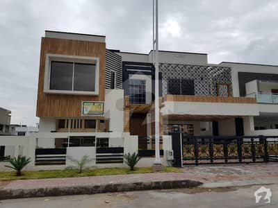 Bahria Town Phase 8 22 Marla Brand New Luxury Designer House Outstanding Location Dream House Quality Construction 5 Beds With Attached Baths All Facility Available