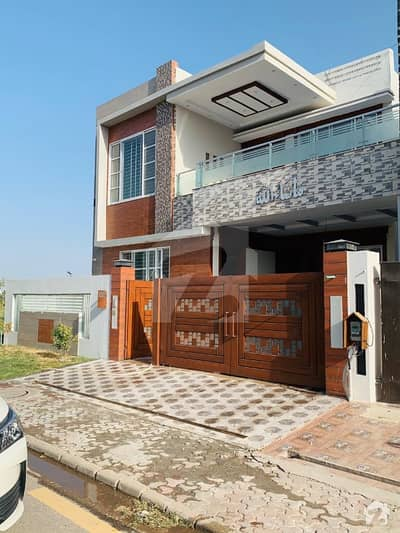 10 Marla Brand New Beautiful Spanish Bungalow For Sale  At Hot Location Near Park