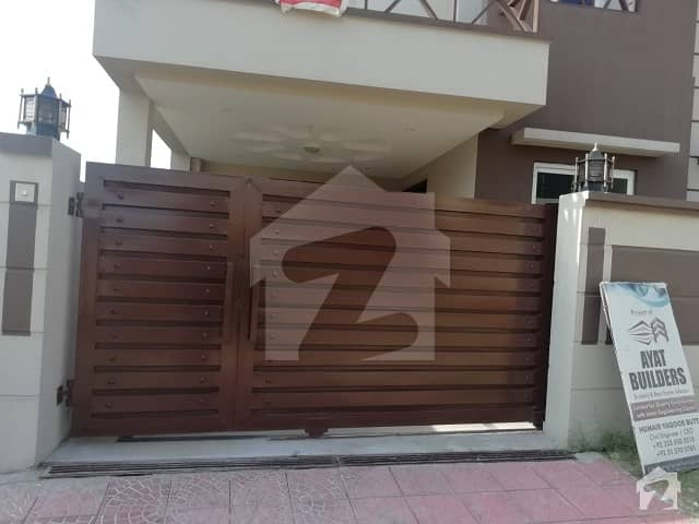 Ali Block Bahria Phase 8 5 Marla Brand New Double Storey House For Sale At Very Reasonable Price