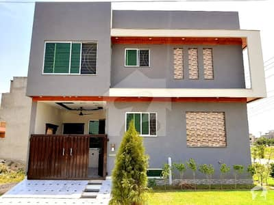 3 Marla Brand New Luxury Corner House With Full Basement Available For Sale In Formanites Housing Scheme