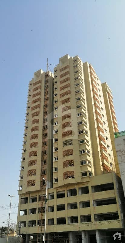 West Open Brand New Flat In AA Tower Is Up For Sale On Main Tariq Road Near 24 Hours Chase Up