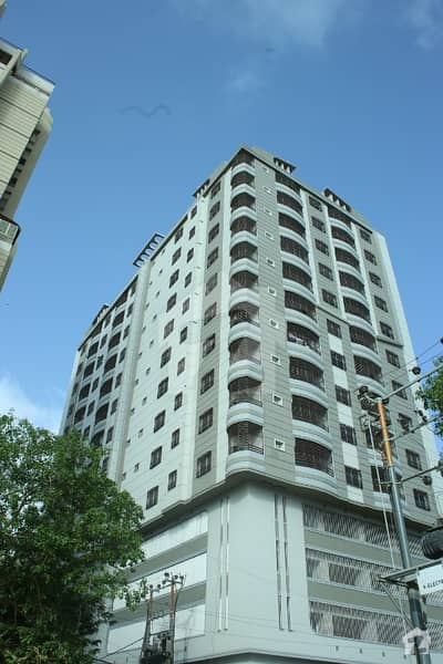 Al Rehman Corner 3 Bed Flat Is Up For Sale On Main Shaheed Millat Road Near Naheed Super Store