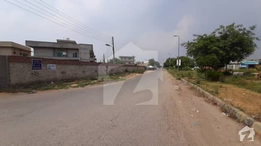 1 Kanal Ideal Location For Built Home Very Near Park Market Mosque And Main College Road Approach Plot For Sale