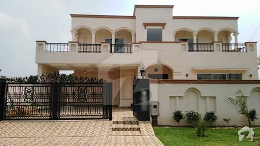 A Nicely Build 24marla Brand New Double Storey Corner House Is Available For Sale In E M E Society - Block A Lahore