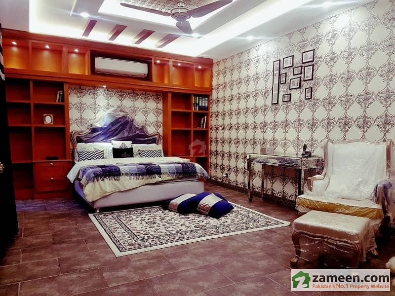 Full Furnished Royal Design  2 Kanal  Bungalow Available For Sale Phase 8  A Block  Dha Lahore