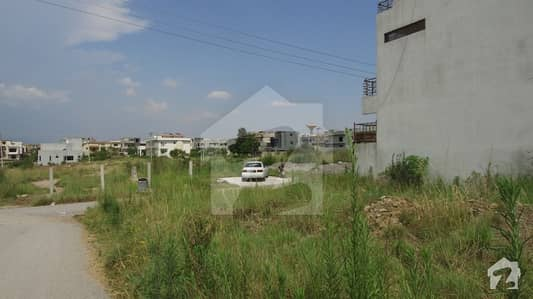 The Good Location Corner Plot For Sale In Cda Sector Islamabad D-17