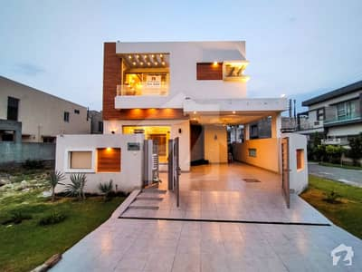 10 Marla Brand New Corner House on 80 Feet Road Availabe For Sale In F Block State Life Housing Phase 1