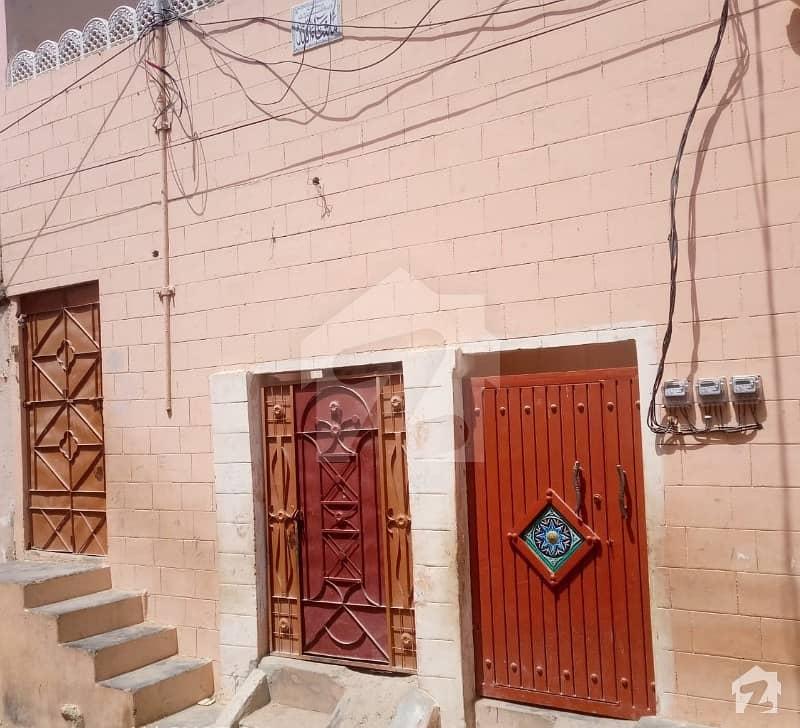 رحیم آباد کورنگی کراچی میں 4 کمروں کا 5 مرلہ مکان 60 لاکھ میں برائے فروخت۔