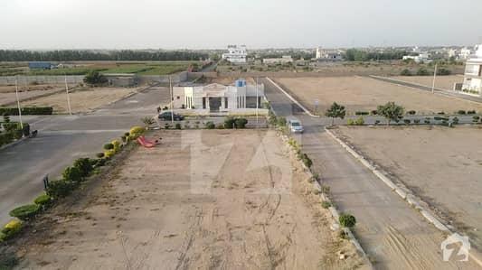 الجدید ریزیڈینسی کراچی میں 6 مرلہ رہائشی پلاٹ 55 لاکھ میں برائے فروخت۔