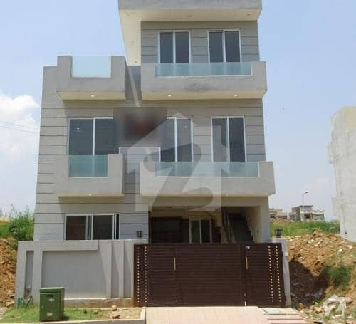 Newly Constructed Double Unit House For Sale In Cda Sector Islamabad G -14/4