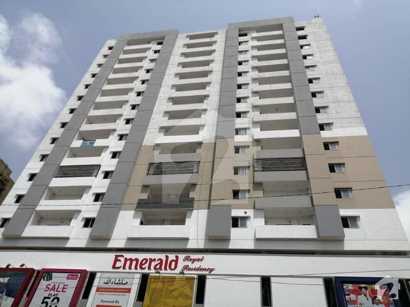 Emerald Residency West Open Flat Is Up For Sale Opposite Dollmen Mall Tariq Road