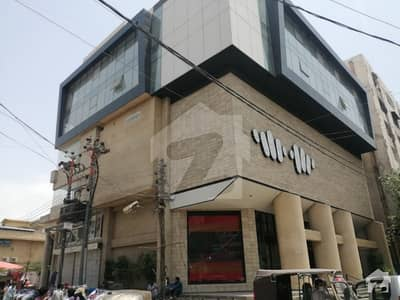 Office Space Is Up For Sale On Booking In Gulshaneiqbal Town Bahadurabad