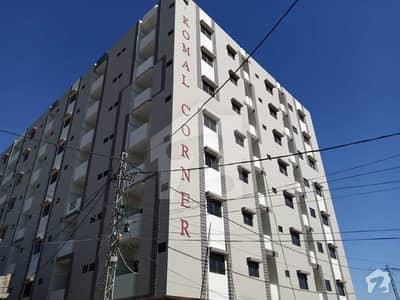 Ready Apartment Available On Cash  1 Year Installment In Komal Corner In Saadi Block 6 Gulzar E Hijri