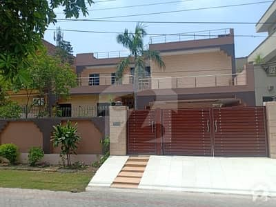 1 Kanal Double Story House For Sale In Marghzar Officers Colony