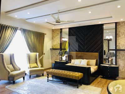 Full Furnished House One Kanal Brand New Designer House For Sale In Dha Lahore