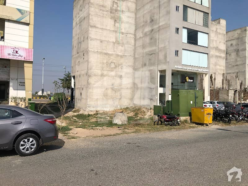 4 Marla Commercial Plot No 281 Block Mb Dha Phase 6 Main Boulevard Back