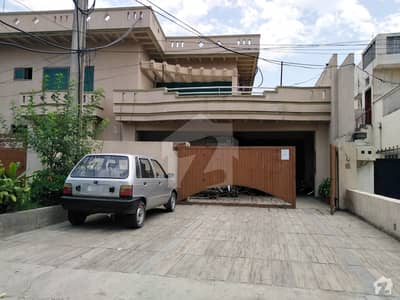 Semi Commercial House For Sale In The Most Posh Area Of Rawalpindi 2 Side Open On Main Boulevard 80 Feet Road