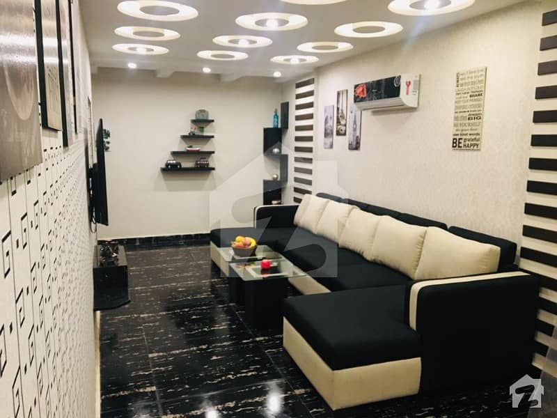 1 Bedroom Vip Full Furnished Flat For Rent In Bharia Town Lahore