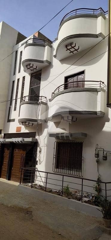 Ground  1 House For Sale In Gulistan- E- Jauhar - Block 9-a