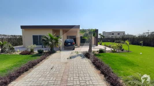Golden Chance For Buyer Investors Rate Beutifull Lush Green 4 Kanal Farm House For Sale Near To Dha Phase 7 2 Kilometer Drive